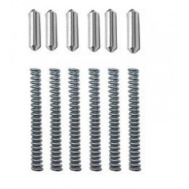 AR15 6 set of Takedown/Pivot Detent Pins& Springs Replacement Package